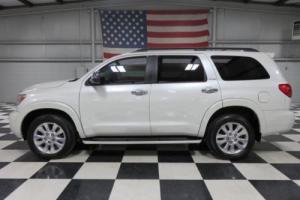 2012 Toyota Sequoia Platinum Limited 4x4