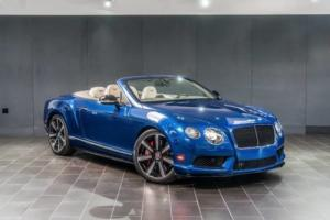 2015 Bentley Continental GT V8 S Convertible 2dr Convertible