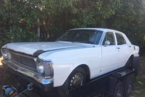 XW FAIRMONT FORD SEDAN FACTORY 6CYL BARN FIND