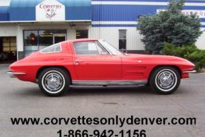 1963 Chevrolet Corvette 1963 Corvette Coupe, 327/340H.P. 4-Speed, Restored