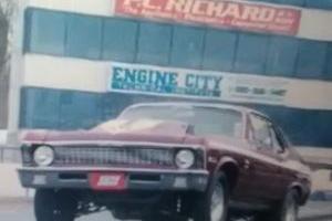1971 Chevrolet Nova full body back halved