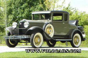 1929 Chrysler Series 65 Rumble Seat Coupe --