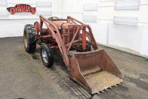 1958 International Harvester 350 Runs Hydraulics Work Farm Bucket Photo