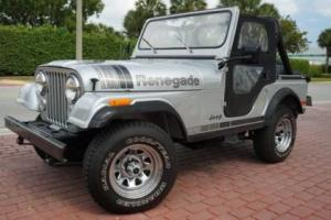 1979 Jeep CJ SILVER ANNIVERSARY SUPER RARE IN FANTASTIC SHAPE!!!