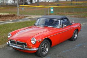 1973 MG MGB CONV. Photo