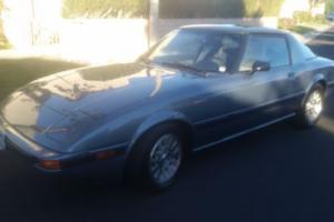1984 Mazda RX-7 RX 7 SL SE