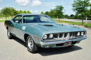 1971 Plymouth Barracuda Cuda' #'s Matching 383 Factory Air Broadcast Sheet