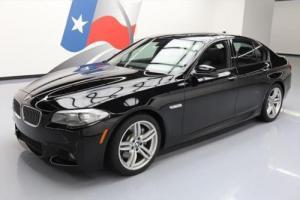 2013 BMW 5-Series 535I M-SPORT SUNROOF NAV REAR CAM LEATHER