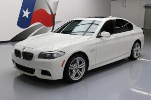 2013 BMW 5-Series 535I XDRIVE AWD M SPORT SUNROOF NAV HUD