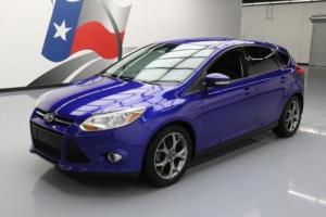 2013 Ford Focus SE HATCHBACK AUTO LEATHER NAV