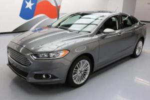 2014 Ford Fusion SE ECOBOOST TECH HTD LEATHER NAV
