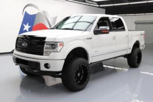 2013 Ford F-150 PLATINUM 4X4 LIFT ECOBOOST SUNROOF NAV!