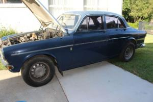Volvo 122S Barn Find, 1966 four door B20 engine. Good interior. Rare colour