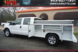 2013 Ford F-250 XL Crew Cab  Service Body Utility Bed Work Truck