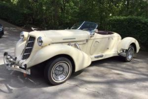 1935 Replica/Kit Makes Auburn Boattail Speedster Replica