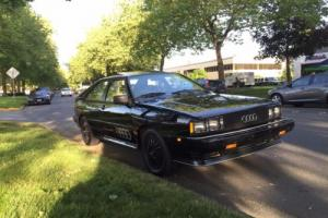 1983 Audi Coupe Quattro Photo