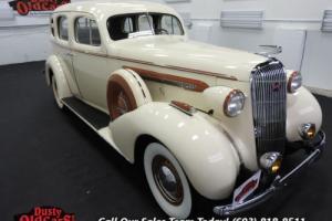 1936 Buick Century Runs Drives Body Vgood 320I8 3spd man Photo