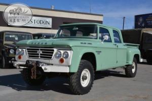 1968 Dodge Power Wagon 4x4 4 wheel drive CREWCAB