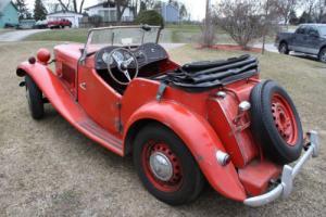 1953 MG T-Series