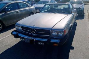 1978 Mercedes-Benz SL-Class SL R107 Convertible