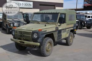 1989 Mercedes-Benz G-Class 4x4 diesel MANUAL G-wagon