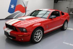 2007 Ford Mustang SHELBY GT500 SVT S/C 6SPD LEATHER SHAKER