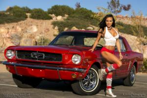 1965 Ford Mustang BEAUTIFULLY RESTORED A-CODE COUPE WITH AC NO RUST Photo