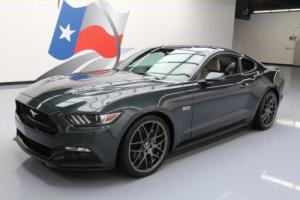 2015 Ford Mustang GT FASTBACK 5.0L 6-SPD REAR CAM