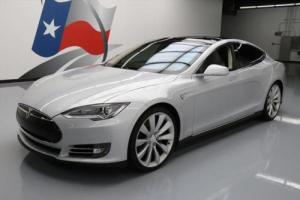2013 Tesla Model S TECH HTD LEATHER NAV REAR CAM