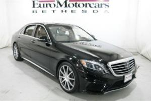 2014 Mercedes-Benz S-Class 4dr Sedan S63 AMG 4MATIC
