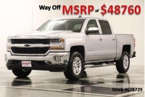 2017 Chevrolet Silverado 1500 MSRP$48760 4X4 LT Camera Bluetooth Silver Ice Crew 4WD