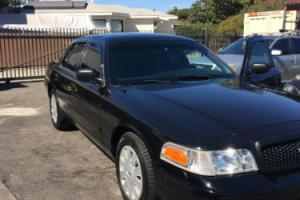 2011 Ford Crown Victoria P71