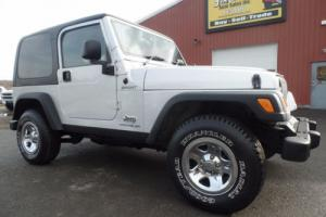 2006 Jeep Wrangler Sport Right Hand Drive 4x4