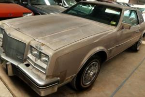 1984 Buick Riviera 5-Litre V8 Luxury Coupe - Unused for 21 Yrs! Now ready to use