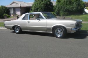 `PONTIAC LEMANS  1965 2 DOOR  4spd AUTO  V8