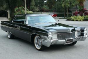 1965 Cadillac DeVille COUPE - SHOW CAR - AIR RIDE - 34K MI Photo