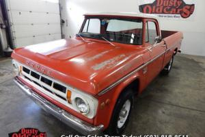 1969 Dodge Camper Special D200 Runs Drives Brakes Ready for Work