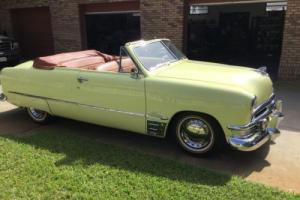 1950 Ford Convertible RestoMod Custom