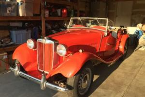 1953 MG T-Series TD