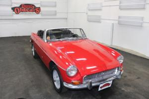 1971 MG MGB 1.8L 4 cyl 4 spd Body Int Good Chrome Wire Wheels