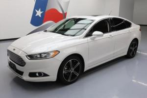 2015 Ford Fusion SE ECOBOOST HTD SEATS SUNROOF NAV