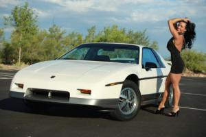 1985 Pontiac Fiero MINT GT 4 SPD WS6 PERFORMANCE ONLY 4,621 MILES