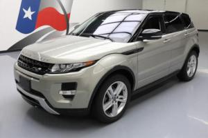 2013 Land Rover Evoque DYNAMIC AWD PANO SUNROOF NAV