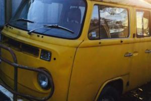 1975 VW Kombi Dual Cab UTE suit Splitscreen Oval Beetle Restoration Project RARE