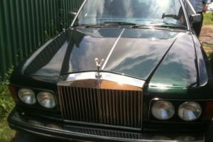 1981 ROLLS ROYCE SILVER SPIRIT ZURELIC BRITISH RACING GREEN AUSTRALIAN DELIVERD