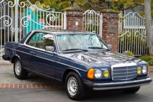 1985 Mercedes-Benz 300-Series W123 300cd 300 CD 300CDT cdt turbo diesel coupe