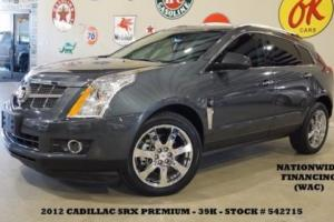 2012 Cadillac SRX Premium ROOF,NAV,REAR DVD,HTD/COOL LTH,CHROME 20'S,39K!