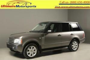 2007 Land Rover Range Rover 2007 HSE AWD NAV SUNROOF LEATHER HEATSEAT RCAM