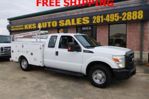 2011 Ford F-250 Super Duty Utility Service Trcuk Extended Cab