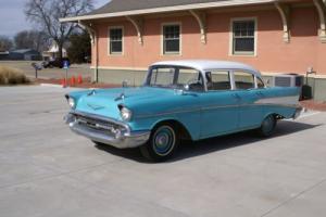 1957 Chevrolet Bel Air/150/210 Bel Air 150 4 door sedan